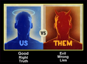 Us vs. Them The Whole Truth!